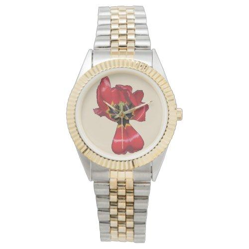 Red Sharon Tulip Watch