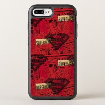 Red Shield Pattern OtterBox Symmetry iPhone 8 Plus/7 Plus Case