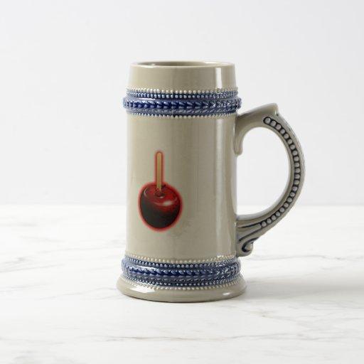 Red Shiny Apple -  Forbidden Fruit 18 Oz Beer Stein