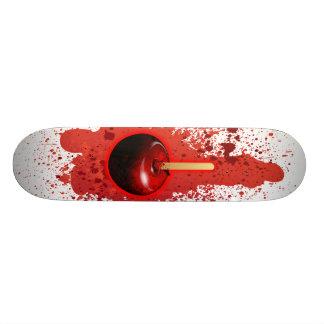 Red Shiny Candy Apple Skateboard