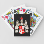 RED SHIRT PLAYING CARDS