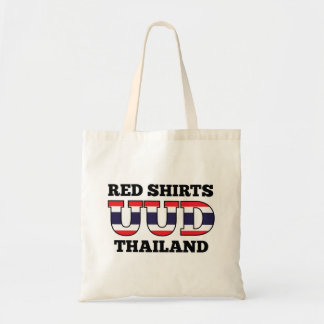 Red Shirts UDD Thailand Tote Bag