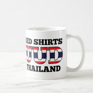 Red Shirts UDD Thailand Classic White Coffee Mug
