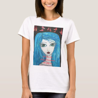 Red Shoe Day Painting Women's Tshirt