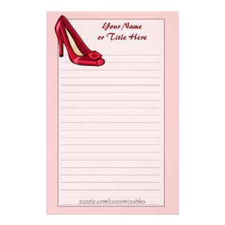 Red Shoe Stationery