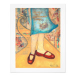 Red Shoes 16 x 20 Print
