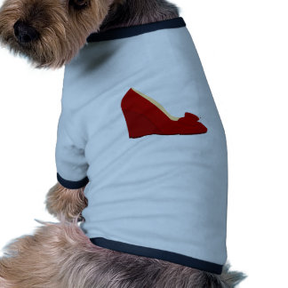 Red Shoes Doggie Tshirt
