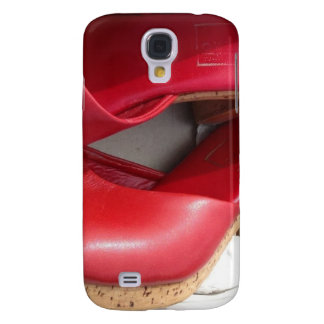 RED SHOES DOMME SAMSUNG GALAXY S4 COVER