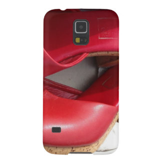 RED SHOES DOMME GALAXY S5 COVER