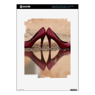 Red Shoes iPad 3 Decal
