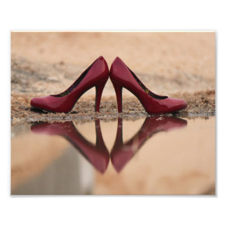 Red Shoes Photo Print