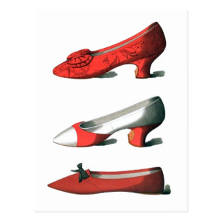 Red Shoes Postcard