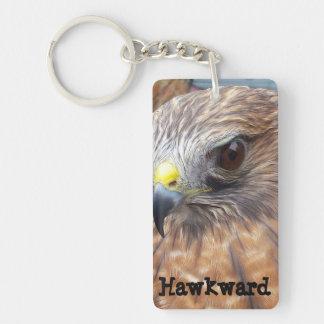 Red-Shoulder Hawk Keychain