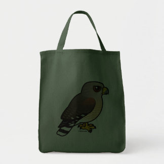 Red-shouldered Hawk Grocery Tote Bag