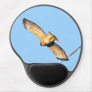 Red-shouldered Hawk Gel Mouse Pad