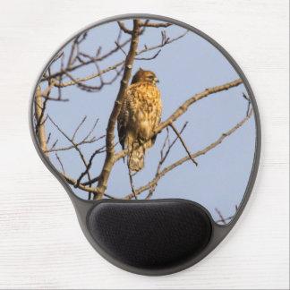 Red-shouldered Hawk Gel Mousepad