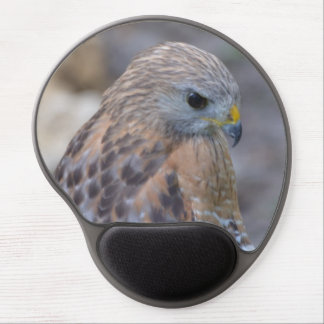 Red Shouldered Hawk Gel Mousepads