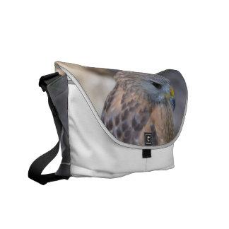 Red Shouldered Hawk Messenger Bag