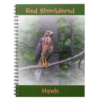 Red Shouldered Hawk Notebook