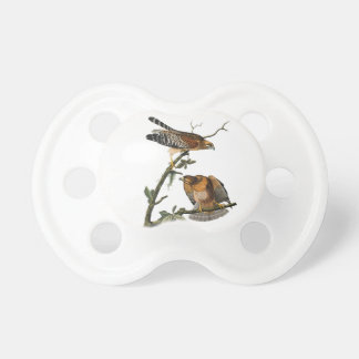 Red-shouldered Hawk Pacifiers