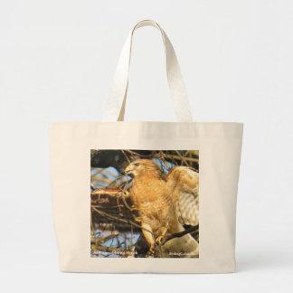 Red-shouldered Hawk Tote Bag