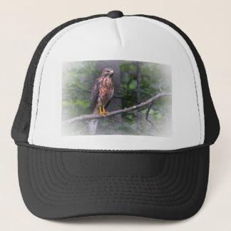 Red Shouldered Hawk Trucker Hat