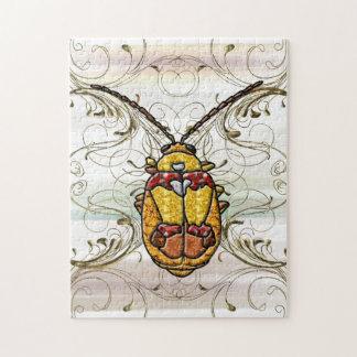 Red Shouldered Leaf Beetle Jigsaw Puzzle