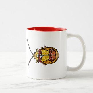 Red Shouldered Leaf Beetle Coffee Mugs