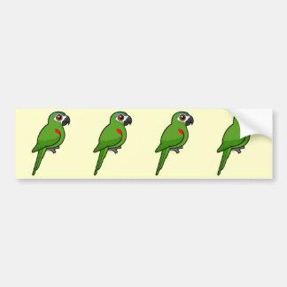 Red-shouldered Macaw Bumper Sticker