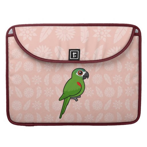 Red-shouldered Macaw Sleeves For MacBooks
