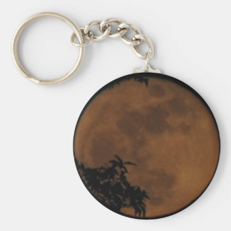 Red Shroud Moon keychain