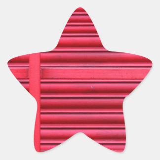 Red Shutter.jpg Star Sticker