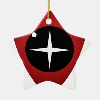 Red Sight Ceramic Ornament