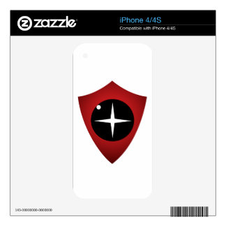 Red Sight iPhone 4 Skins