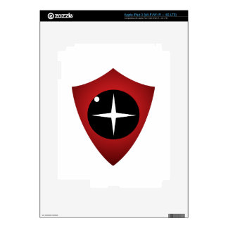 Red Sight Decal For iPad 3