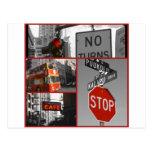 Red Signs ポストカード