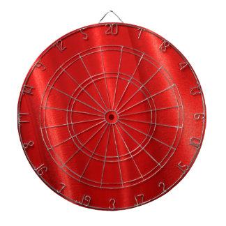 Red silk background dartboards
