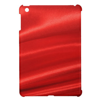 Red silk background iPad mini cases
