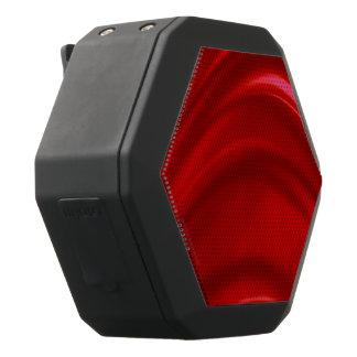 Red Silk Black Bluetooth Speaker