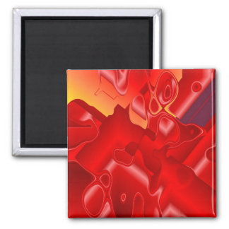 Red Silk Magnet