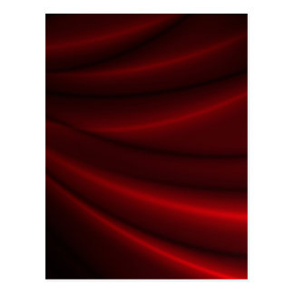 Red Silky Background Postcard
