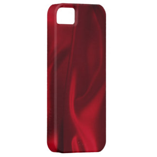 Red Silky Satin Style iPhone 5 case