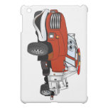 Red Silver Tow Truck Cartoon Cover For The iPad Mini