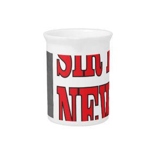 red sir Newton Beverage Pitchers