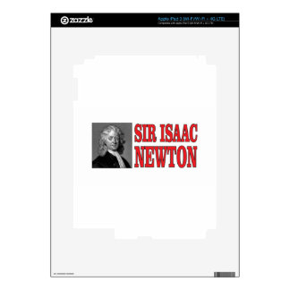red sir Newton iPad 3 Decals
