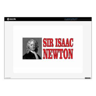 red sir Newton Laptop Skins