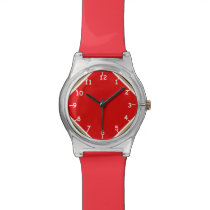 Red Sisco Four Corners Wristwatch