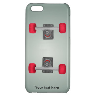 Red Skateboad Wheels iPhone 5C Cover