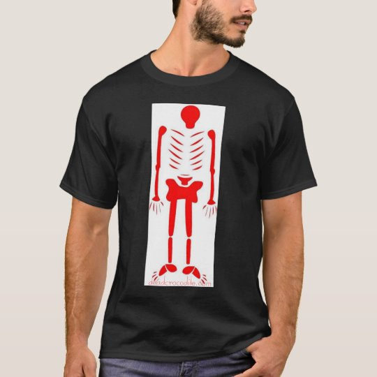 red skeleton ded skeleton T-Shirt