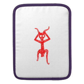Red skeleton man sleeve for iPads